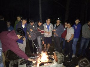CIV201 Sept 2015 Campfire - Sleep photo